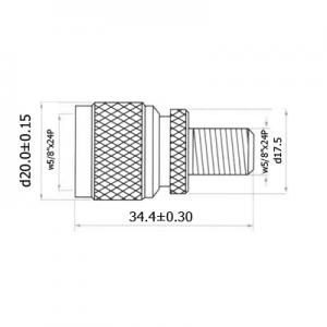 Переход F(female) - N(male) медь H3272