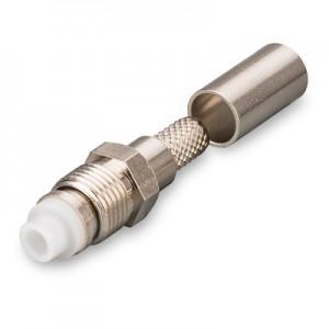 Разъем N1-211F NGD FME (female) обжимной на кабель RG58